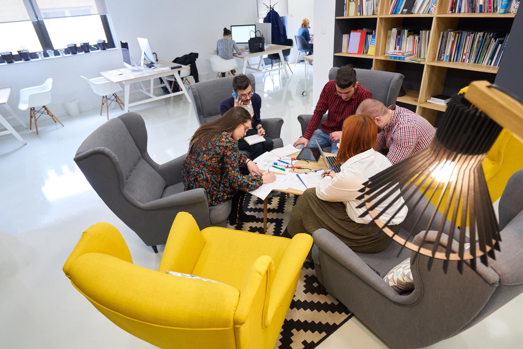 Metri Quadri Ufficio Persona : Lufficio fa spazio al benessere da residenza a esperienza